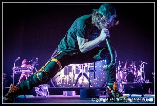 Shaka Ponk feat. Bertrand Cantat en concert