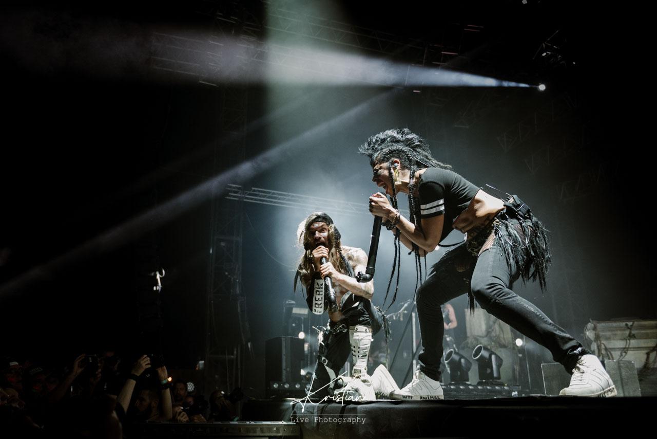 SHAKA PONK et BERTIGNAC en concert