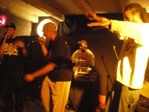 S.P.O.T + Skwar Section en concert