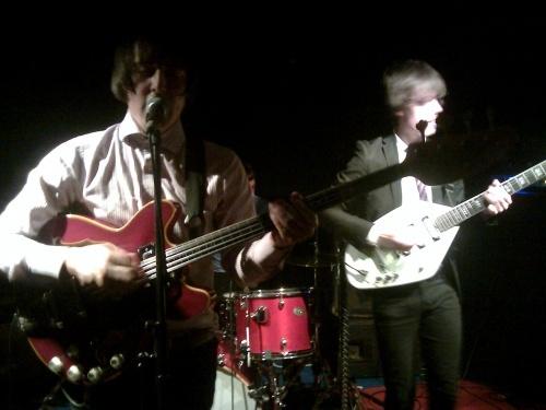 The High Learys en concert