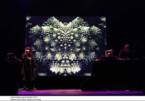 Lydia Lunch & Philippe Petit + Odattee + Dalek en concert