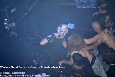 Metallian Battle Contest / Wacken Metal Battle 2011 en concert