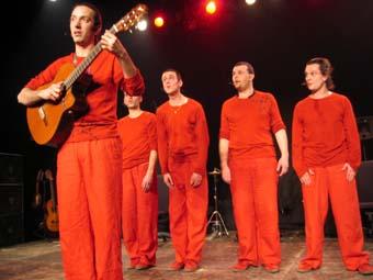 Les Wriggles (Festival Avec Le Temps 2004) en concert