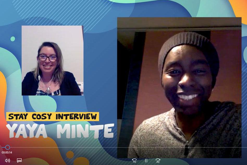 Interview de Yaya Minté en concert