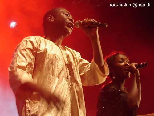 Youssou NDour + Takana Zion + Groundation  en concert