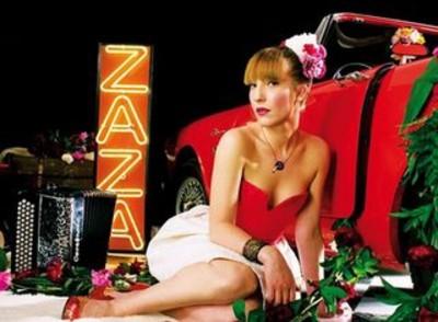 Zaza Fournier + Plume (Avec le Temps 2009) en concert