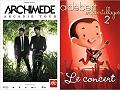 Entretien croisé Archimède / Aldebert à l'occasion de leurs concerts consécutifs à Marseille les 19 et 20 décembre 2014 en concert