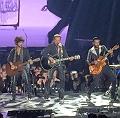 Johnny Hallyday + Yodelice en concert