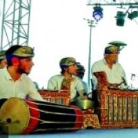 Gamelan Bintang Tiga en concert