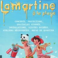 Lamartine à la plage