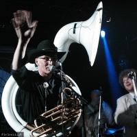 Mardi Gras Brass Band en concert