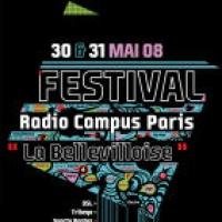 Festival Radio Campus à la Bellevilloise
