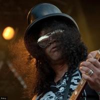 Slash en concert