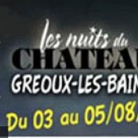Les Nuits du Château à Gréoux