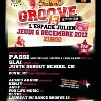 Le Festival Groove 13