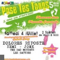 Festival Pose tes Tongs